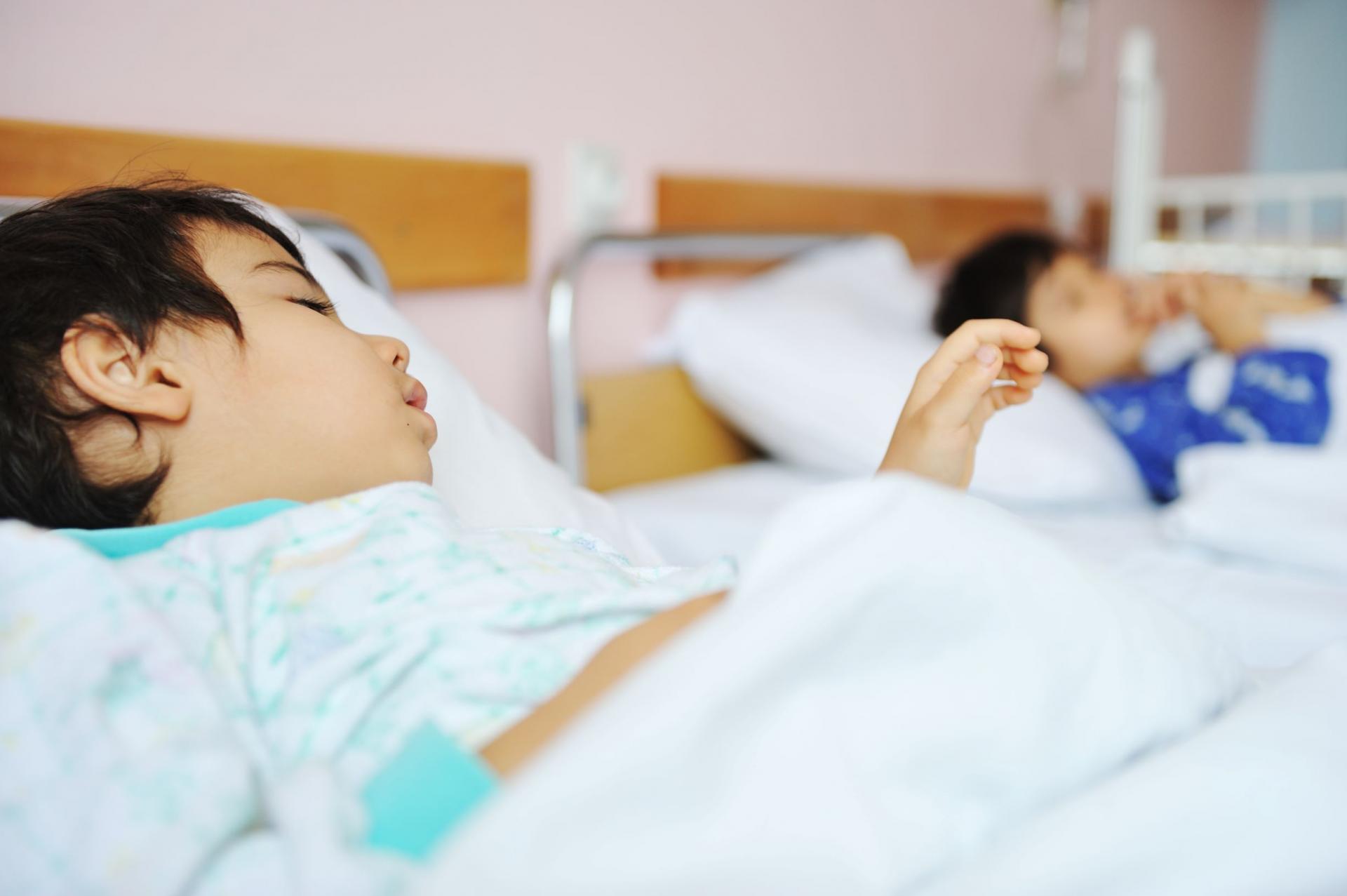 Enfant hopital